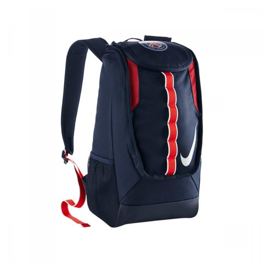 94c6bba37 Backpack Nike Allegiance PSG Shield Compact Midnight navy-White ...