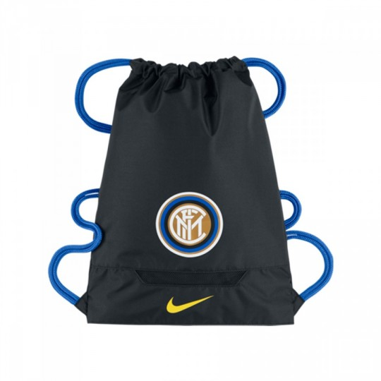 Bolsa  Nike Gymsack Inter Milan Allegiance Black-Royal blue-Opti yellow