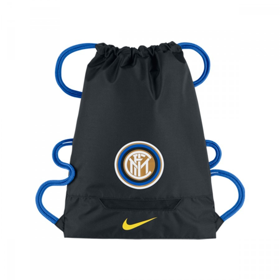 d8e3257a82 Bag Nike Gymsack Inter Milan Allegiance Black-Royal blue-Opti yellow ...