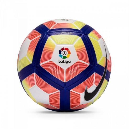 Balón  Nike LaLiga Ordem 2016-2017 White-Orange-Blue