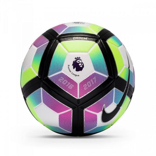 Balón  Nike Premier League Ordem 4 Football White-Blue