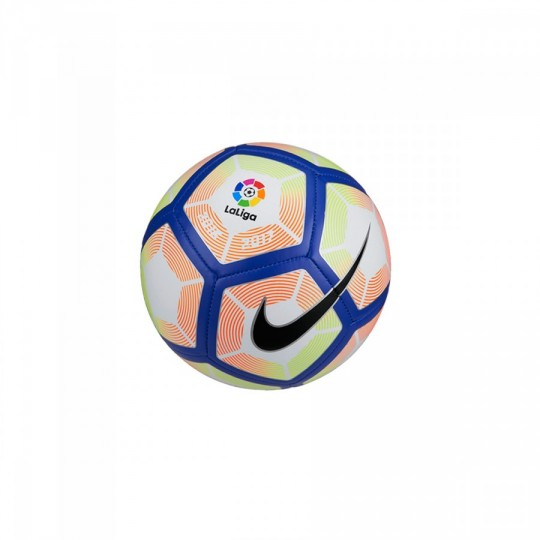 Bola de Futebol  Nike mini LaLiga 2016-2017 White-Orange-Blue