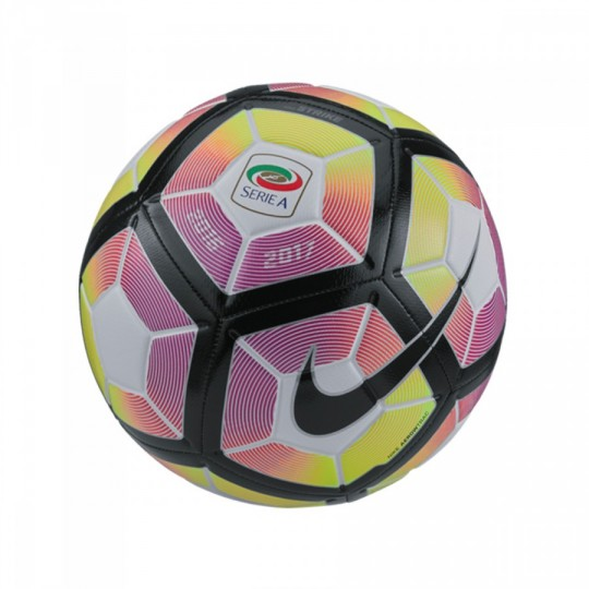 Balón  Nike Serie A Strike Football White-Purple