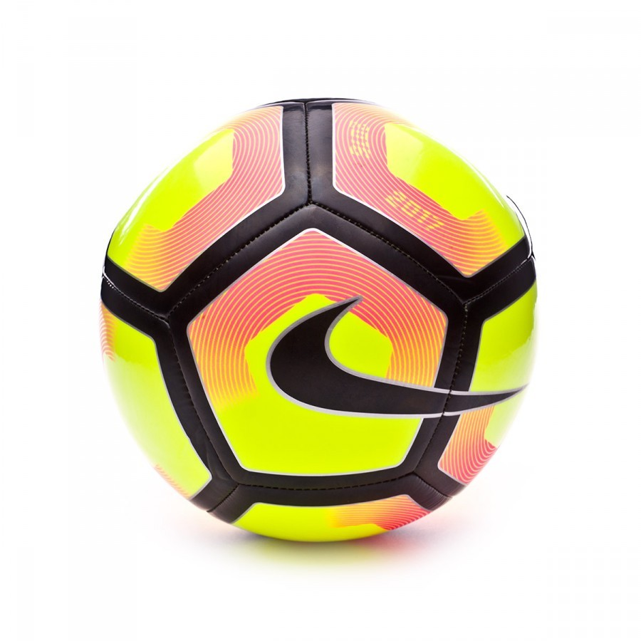 Ball Nike Nike Pitch Football Black-Volt-Pink blast - Football store Fútbol  Emotion 78a1fb0d54373