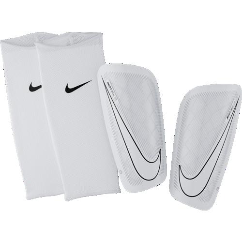 Caneleira  Nike Mercurial Lite White-Black