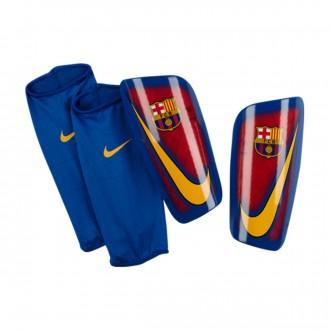 Espinillera  Nike FC Barcelona Mercurial Lite 2016-2017 Prime red-Game-University gold