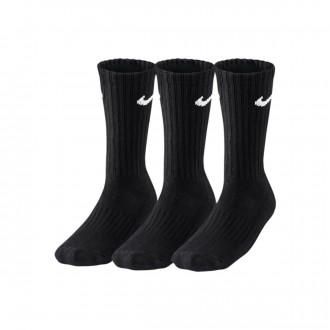 Calcetines  Nike Value Cotton Crew Training Sock (3 Pares) Black-White