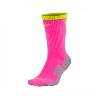 Meias  Nike Stadium Crew Pink blast-Volt
