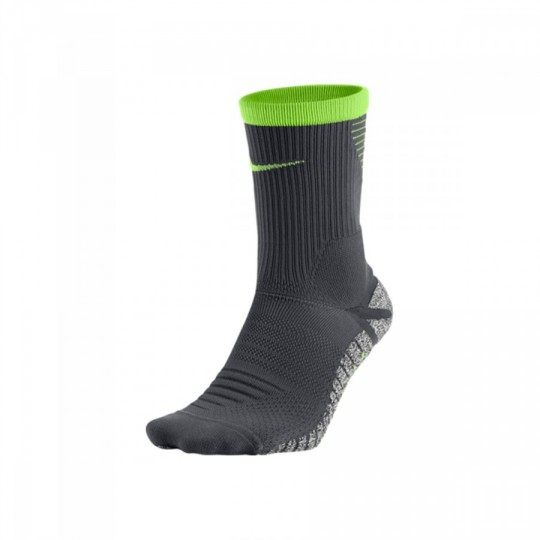 Calcetines  Nike GRIP Strike Lightweight Crew Dark grey-Ghost green