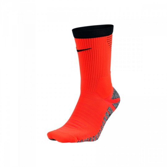 Calcetines  Nike GRIP Strike Lightweight Crew Total crimson-Black