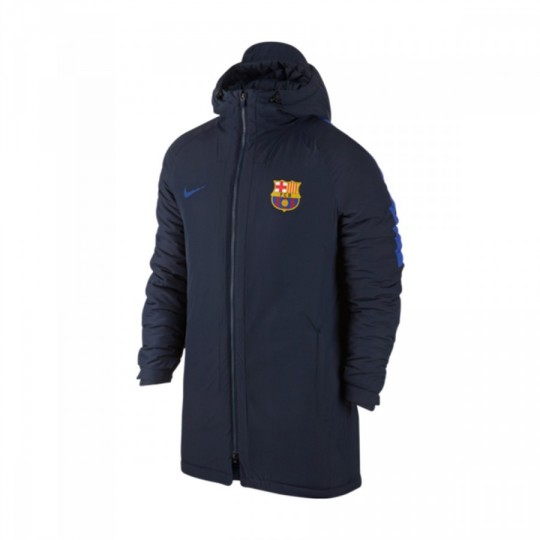Chaquetón  Nike FC Barcelona 2016-2017 Obsidian-Game royal