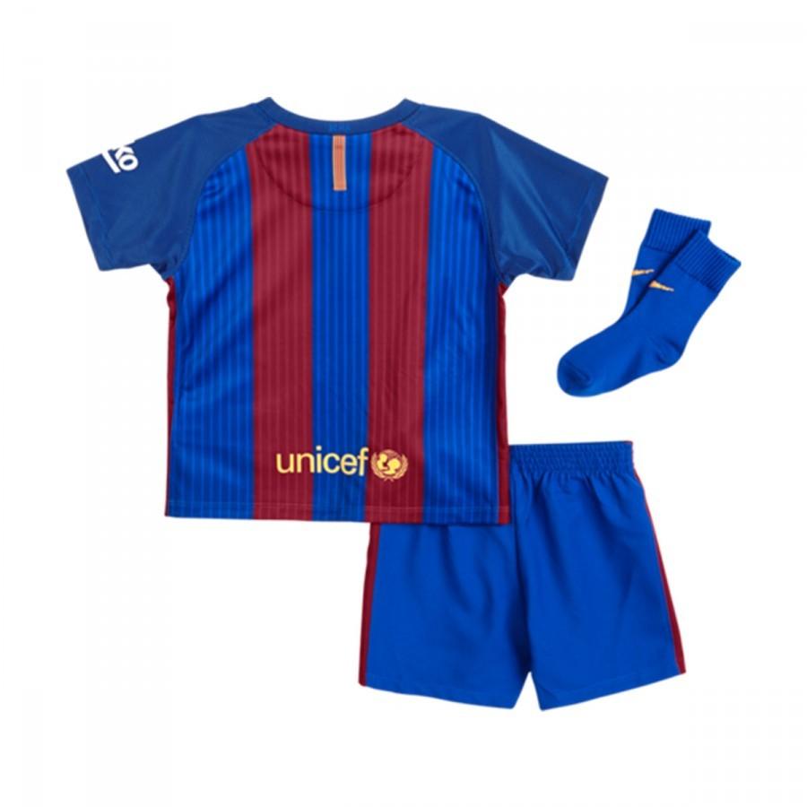6ed95c4f7 Kit Nike Jr FC Barcelona Home 2016-2017 Bebé Sport royal-Gym red-University  gold - Tienda de fútbol Fútbol Emotion