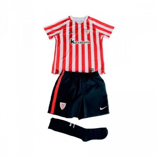 Conjunto  Nike jr AC Bilbao Home 2016-2017 Bebé University red-White-Black