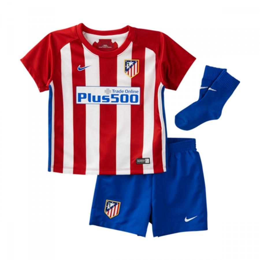 Conjunto Nike Atlético de Madrid Primera Equipación 2016-2017 Bebé ... 645508aba40