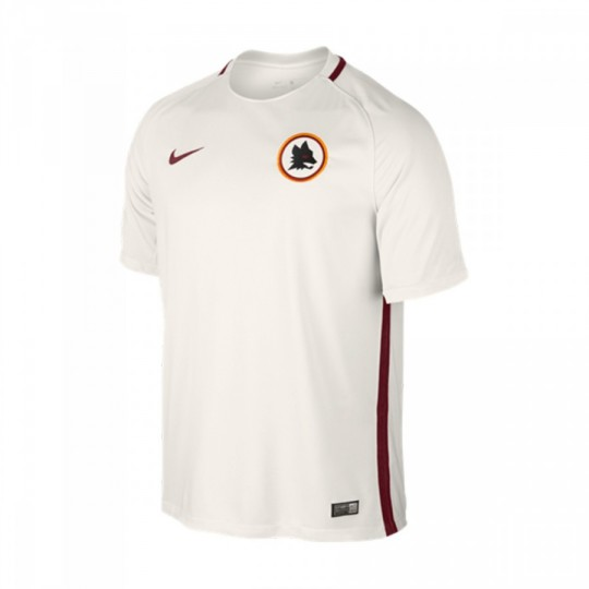 Camiseta  Nike jr AS Roma Stadium Away 2016-2017 Phantom-Team red
