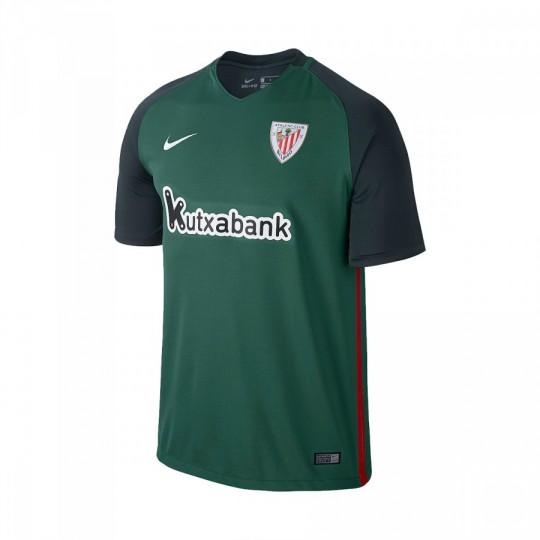Camiseta  Nike AC Bilbao Segunda Equipación 2016-2017 Niño Green stone-Seaweed-White