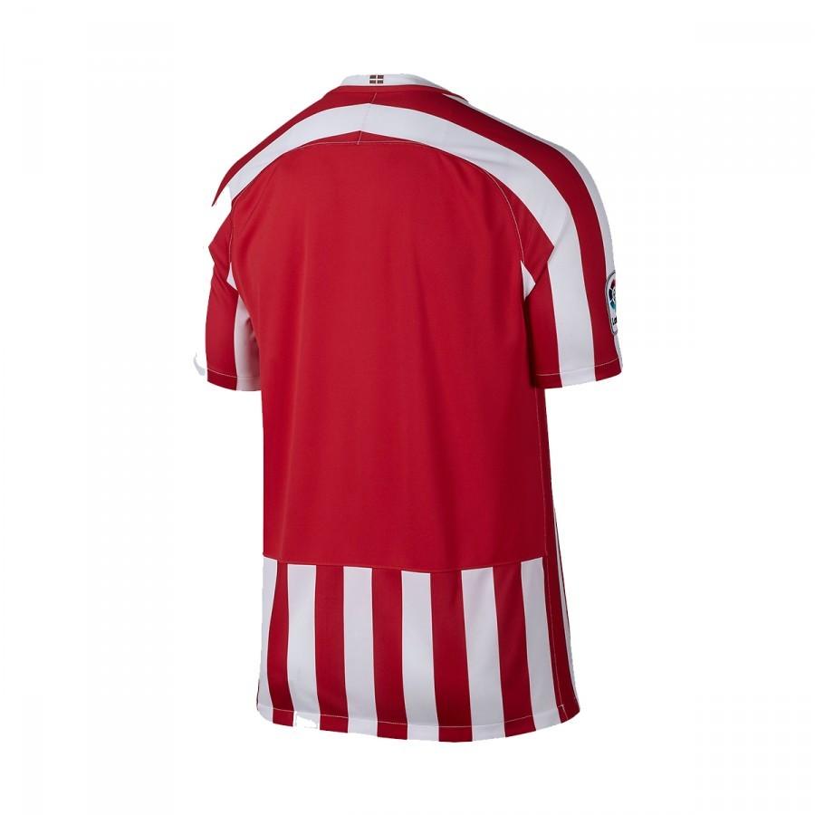 9db1471efb7e9 Camiseta Nike AC Bilbao Primera Equipación 2016-2017 Niño University  red-White-Black - Tienda de fútbol Fútbol Emotion