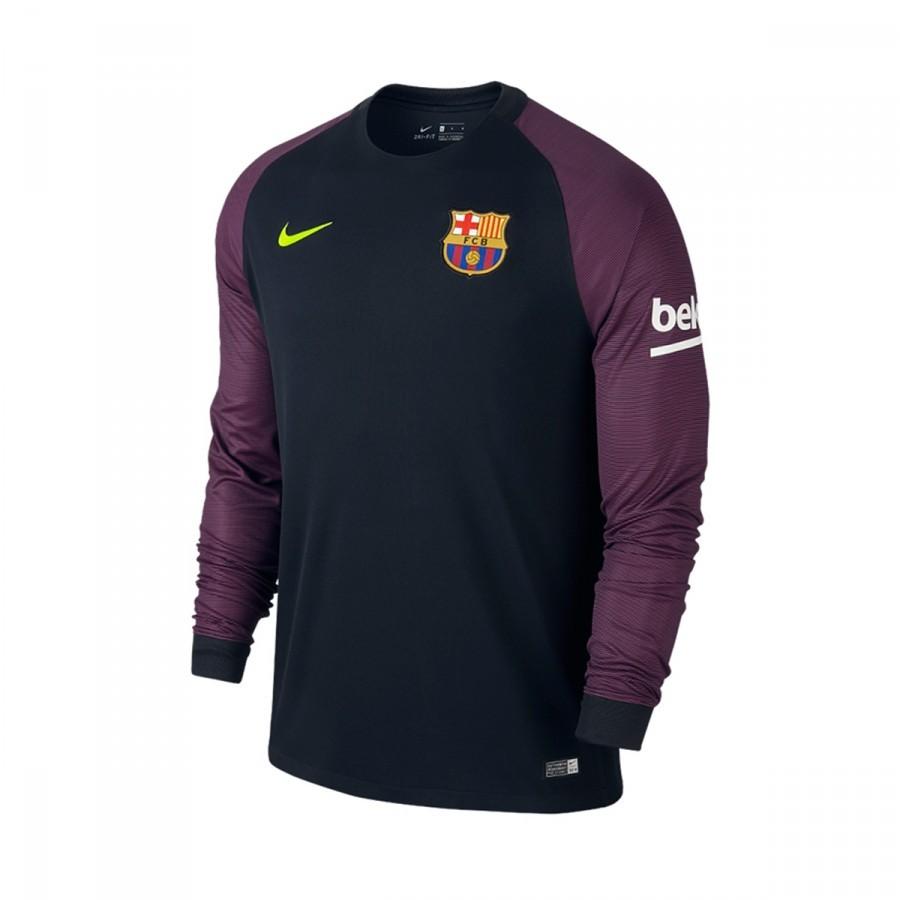 Camiseta Nike FC Barcelona Primera Equipación Stadium Portero 2016-2017  Black-Volt - Soloporteros es ahora Fútbol Emotion f716e9b030638