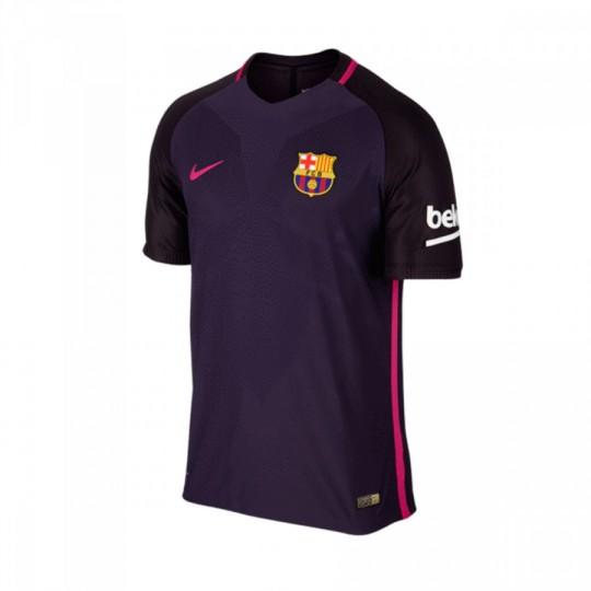 Camiseta  Nike FC Barcelona Segunda Equipación Vapor Match 2016-2017 Purple dynasty-Black-Vivid pink