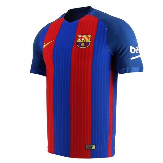 Camiseta  Nike FC Barcelona Primera Equipación Vapor Match 2016-2017 Sport royal-Gym red-University gold