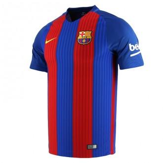Camiseta  Nike FC Barcelona Primera Equipación Stadium 2016-2017 Sport royal-Gym red-University gold