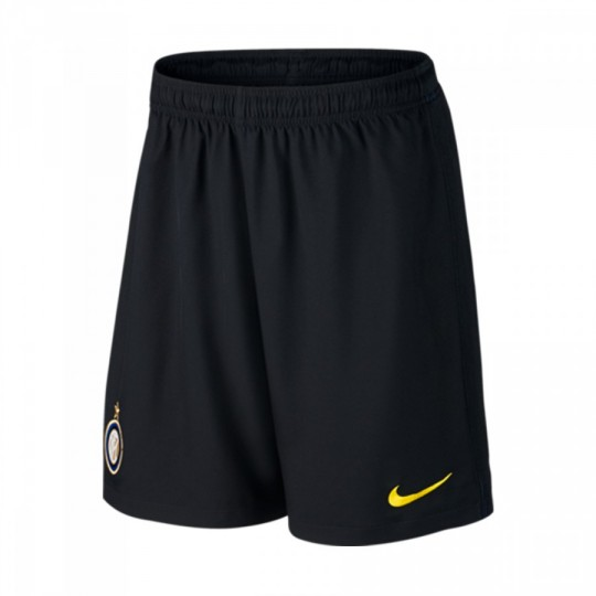 Pantalón corto  Nike Inter Milan Stadium Home/Away 2016-2017 Black-Optical yellow