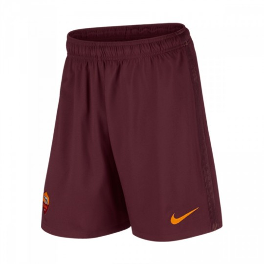 Pantalón corto  Nike AS Roma Stadium Home/Away 2016-2017 Night maroon-Kumquat