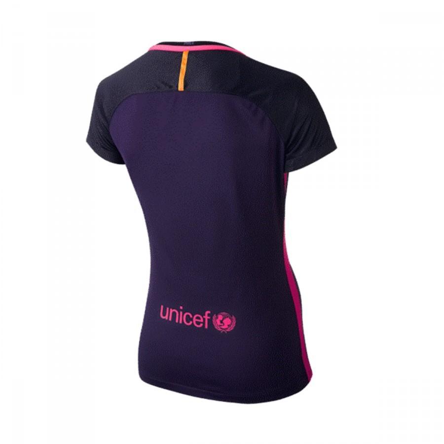 Camiseta Nike FC Barcelona Segunda Equipación Stadium Mujer 2016 ... f829e4469bc