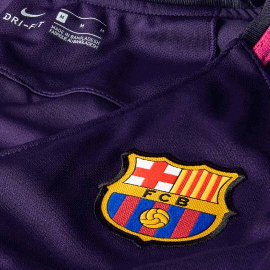 Camiseta Nike FC Barcelona Segunda Equipación Stadium Mujer 2016-2017  Purple dynasty-Black-Vivid pink - Soloporteros es ahora Fútbol Emotion f3e5e66cf2ba5