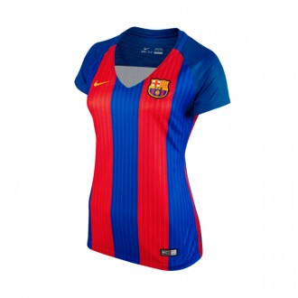 Camiseta  Nike FC Barcelona Primera Equipación Stadium Mujer 2016-2017 Sport royal-Gym red-University gold