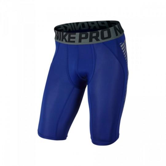 Leggings  Nike Pro Cool Football Deep royal blue-Silver