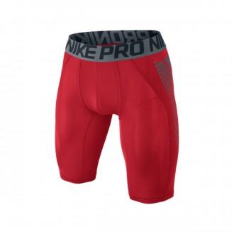 Malla  Nike Pro Cool Football University red-Silver