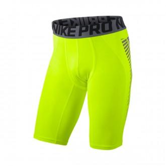 Malla  Nike Pro Cool Football Volt-Silver