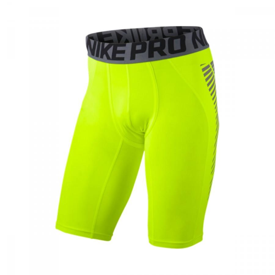Malla Nike Pro Cool Football Volt-Silver - Soloporteros es ahora ... f7073e4b6874