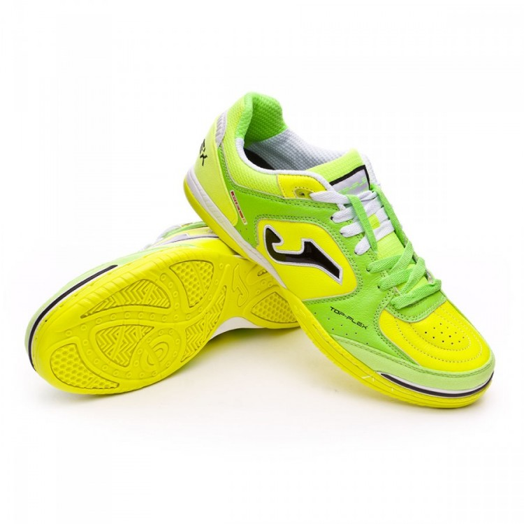 3f1bea2ef Futsal Boot Joma Top Flex Green-Yellow - Football store Fútbol Emotion