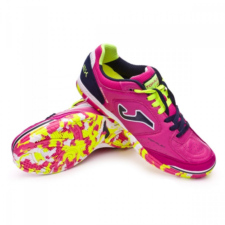 dd34ec9a2 Futsal Boot Joma Top Flex Pink-Black - Football store Fútbol Emotion
