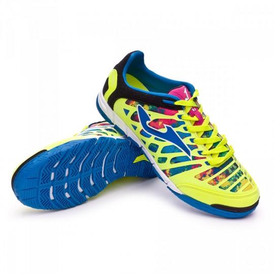 Chaussure de futsal  Joma Super Regate Amarillo Flúor-Multicolor