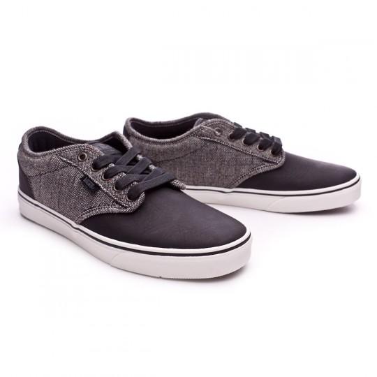 Zapatilla  Vans Atwood Deluxe-Tweed Black-Grey
