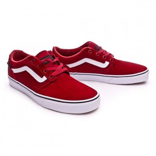 Zapatilla  Vans Chapman Stripe-Varsity Red-White