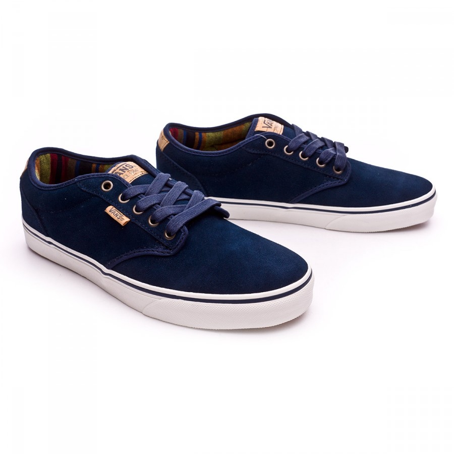 Trainers Vans Atwood Deluxe-Suede Blue - Football store Fútbol Emotion 7e8f65568