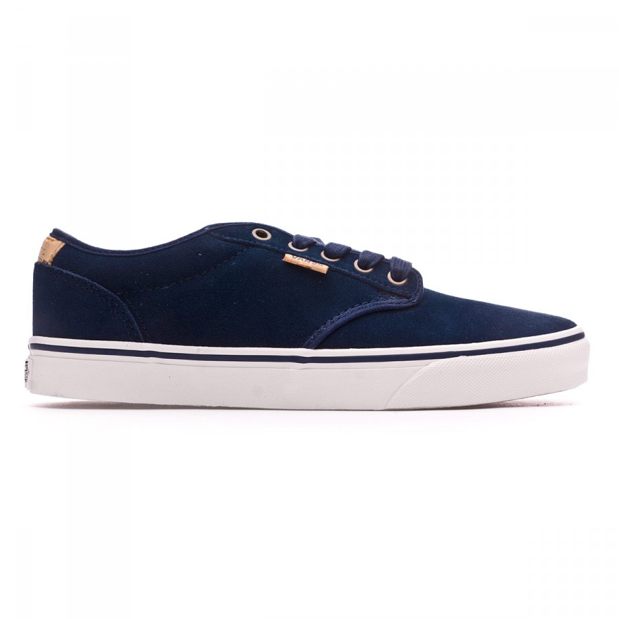16ea786ec4 Trainers Vans Atwood Deluxe-Suede Blue - Football store Fútbol Emotion
