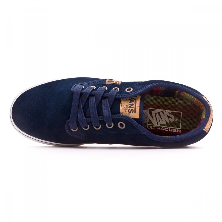 695c8d3a72a2c3 Trainers Vans Atwood Deluxe-Suede Blue - Football store Fútbol Emotion