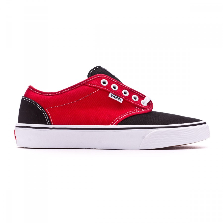 f197dfa28bb9d8 Trainers Vans Atwood-2 tones Black-Red - Football store Fútbol Emotion