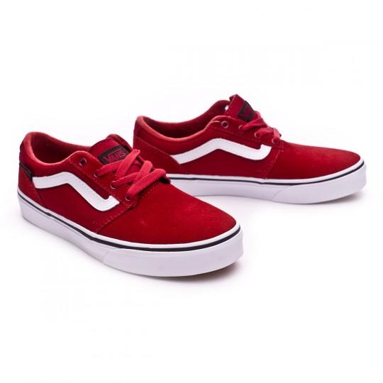 Zapatilla  Vans jr Chapman Stripe-Varsity Red-White