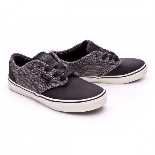 Zapatilla  Vans Atwood Deluxe-Tweed Niño Black-Grey