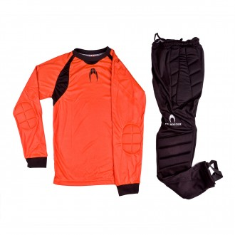 Conjunto  HO Soccer Keeper Set One Niño Orange