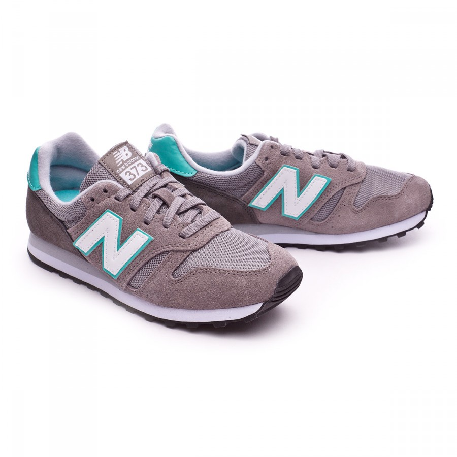 new balance 373 green with grey