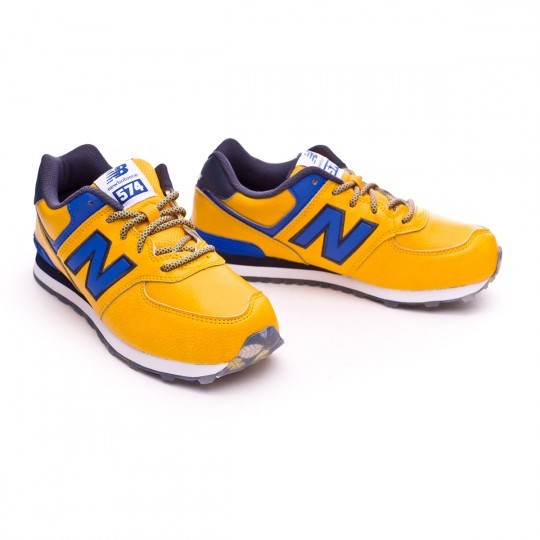 Zapatilla  New Balance KL574 Niño Yellow-Blue