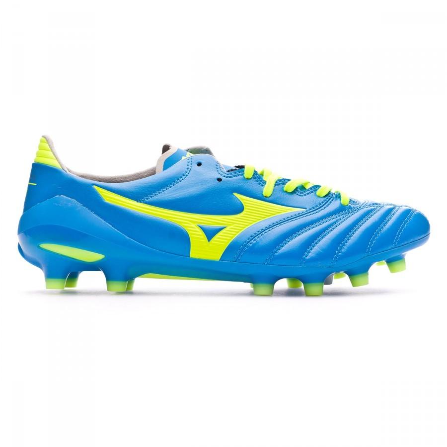 Boot Mizuno Morelia Neo II MD Diva blue-Safety yellow - Football store  Fútbol Emotion 90f49a81653cc