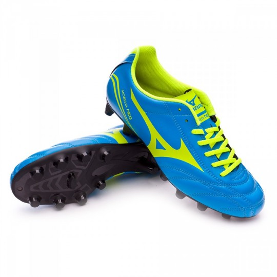 Chuteira  Mizuno Morelia Neo CL MD Diva blue-Safety yellow
